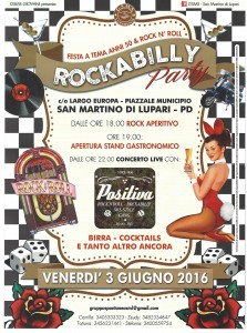 Volantino Rockabilly Ufficiale